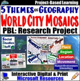 Five Themes of Geography | Mosaic Research Project | 5 Themes Distance Learning