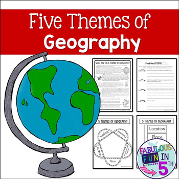 Five Themes of Geography: Nonfiction Passage and Foldables