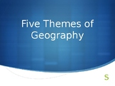 Five Themes of Geography PPT