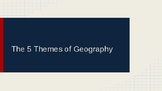 Five Themes of Geography PPT and Note Booklet