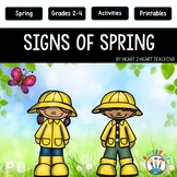 Signs of Spring - A Non-fiction and Literacy Activity Pack