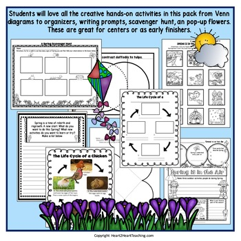Signs of Spring Activity Pack