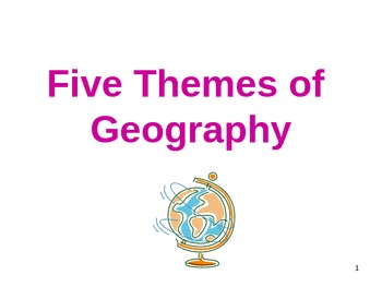 Five Themes of Geography Power Point