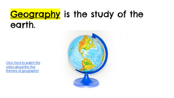 Five Themes of Geography Slideshow