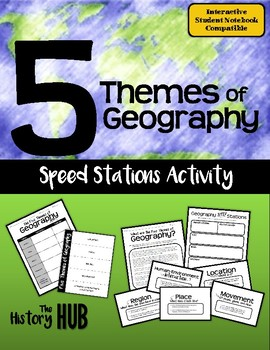 Five Themes of Geography Task Cards