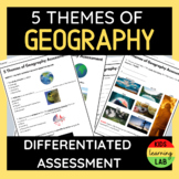 Five Themes of Geography Differentiated Assessment