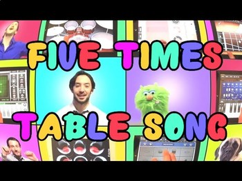 Five Times Table Song!