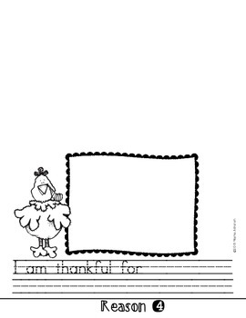 Five Top Reasons I Am Thankful Flipbook {My Monthly FREEBIE}
