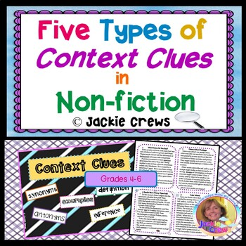 Find Context Clues in Non-Fiction: Five Types of Context C