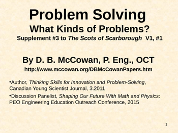 Five Types of Problems
