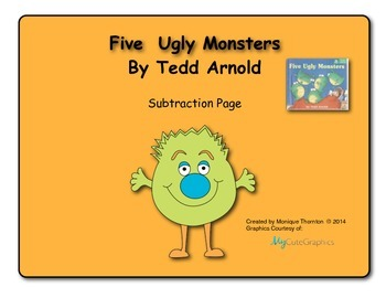 Five Ugly Monsters (Subtraction to 5)