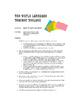 Spanish Five Verb Tense Review Sentence Mixer