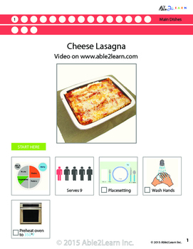 Five  Visual Recipes for Youths with Autism/Special Ed Classroom - Mega Pack #8