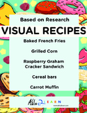 Five  Visual Recipes for Youths with Autism/Special Ed Classroom - Mega Pack #9