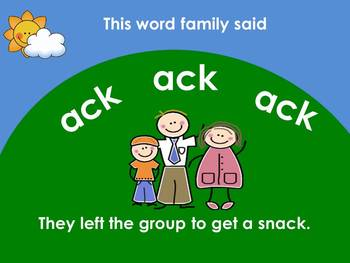 Word Families Video