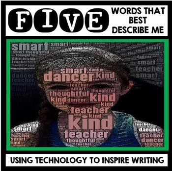All About Me - Back to School - Technology Inspired Art and Writing Project