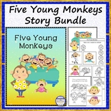 Five Young Monkeys Story Bundle