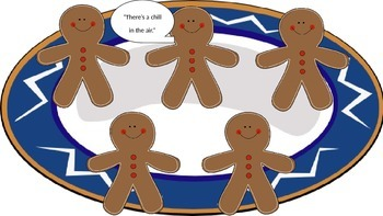 Five Yummy Gingerbread Man