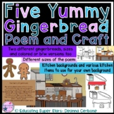 Five Yummy Gingerbread Poem and Craft
