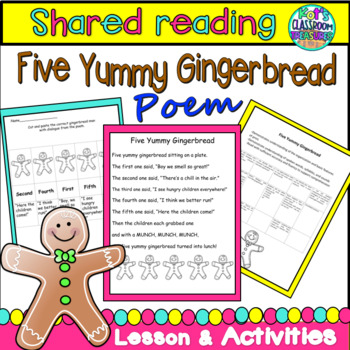 Five Yummy Gingerbread Shared Reading