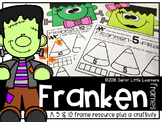 Five and Ten Frame Resource