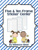Five and Ten Frame Stamp {Numbers 0-20}