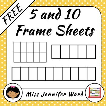 5 and 10 Frame Templates FREE