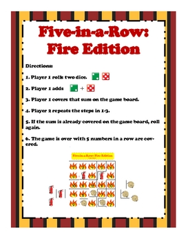 Five-in-a-Row: Fire Edition