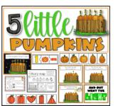 Five little pumpkins poem and activities