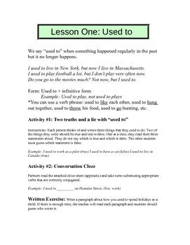 Five no-prep intermediate ESL lessons