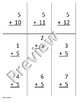 Fives 5s Addition and Subtraction practice/flashcards (editable)