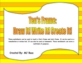 Five's Frame and Ten's Frame- Draw It! Write It! Create It!