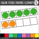 Color Five Frames Clipart
