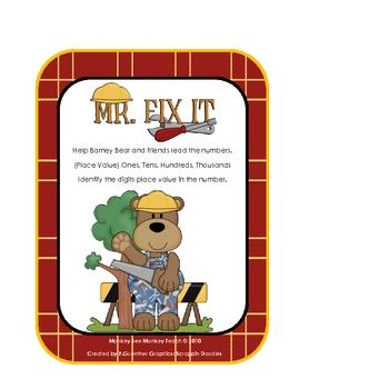 Fix A Bear Place Value