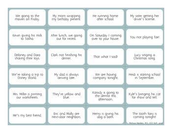 Fix-A-Sentence BUNDLE: Hundreds of Grammar Stimulus Cards