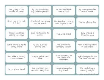 Fix-A-Sentence: Grammar Stimulus Cards