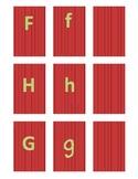 Fix It Duck attachment-Alphabet Cards ( for Fix It Duck Product)