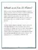 Fix-It-Plan: A Behavior Curbing Consequence