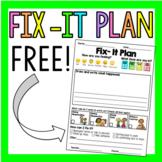 Fix- It Plan (FREE)