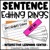 Sentence Editing: Proofreading Sentence Rings
