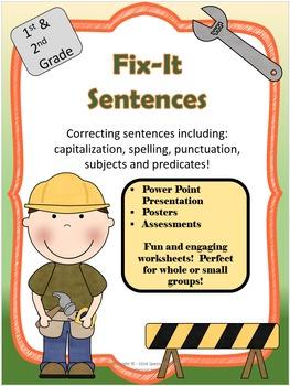 Fix It Sentences!