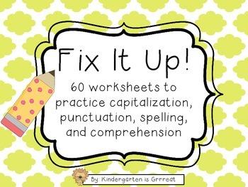 Fix-It Sentences