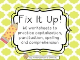 Fix-It Sentences