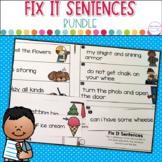 Fix It Sentences Bundle