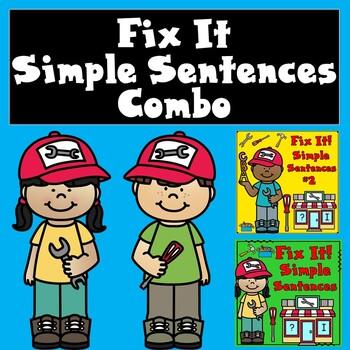 Fix It Simple Sentences COMBO