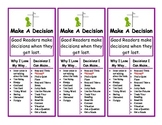 Fix It Up Reading Strategy Bookmarks