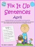 Easter Fix It Up Sentences