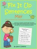 May Fix It Up Sentences
