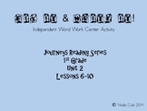 Fix It & Write It - Journeys, 1st Grade Unit 2 HFW