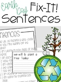 Fix-It! Writing Sentences (Earth Day Edition)